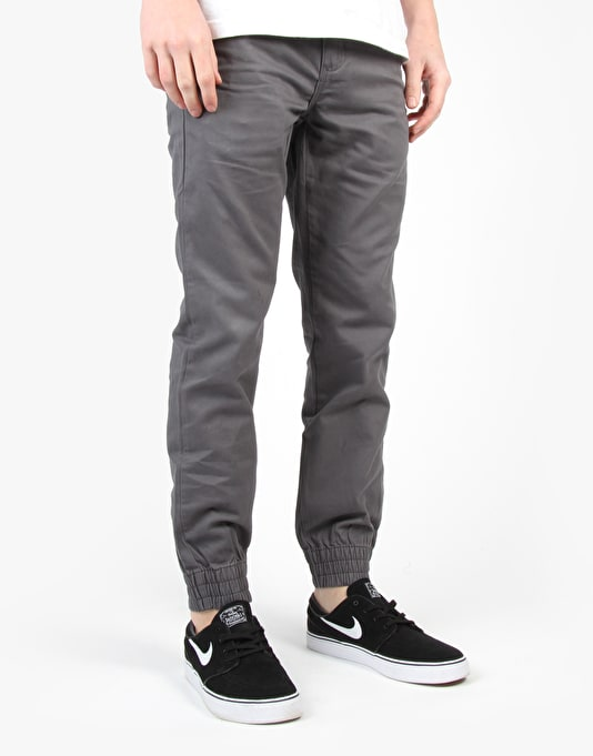 Vans Excerpt Chino Pegged Trousers - Gravel