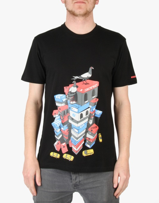 Staple Sneaker City T-Shirt - Black