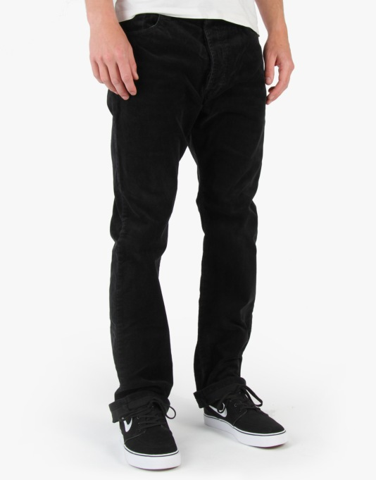 Fourstar Howard Sig. Cord Trousers - Black