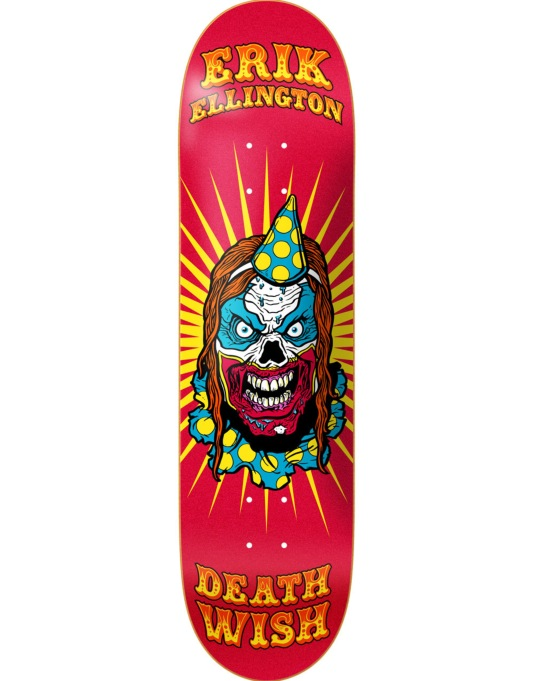 Deathwish Ellington Clowns Pro Deck - 8.25""