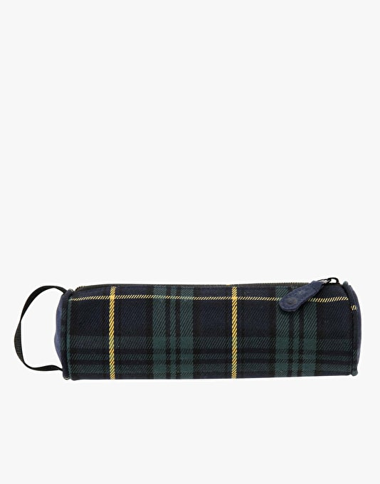 Mi-Pac Pencil Case - Tartan Black/Watch Yellow