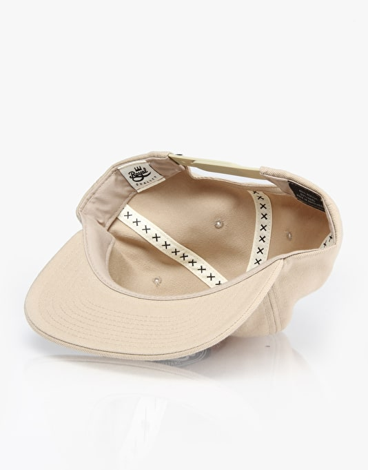 Royal Seal Unconstructured Snapback Cap - Khaki