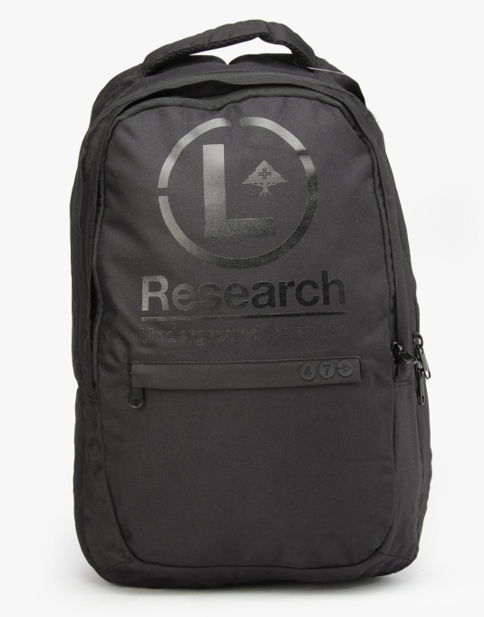 LRG L-Train Backpack - Triple Black