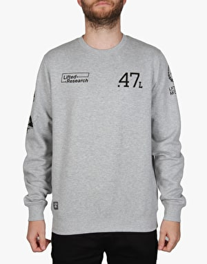 LRG The Message Crewneck - Ash Heather