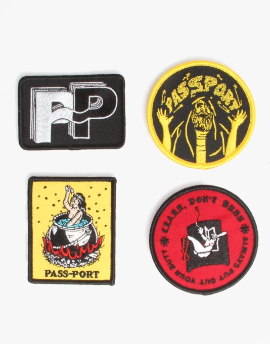 Pass Port Patch Pack 4 Pack - Multi