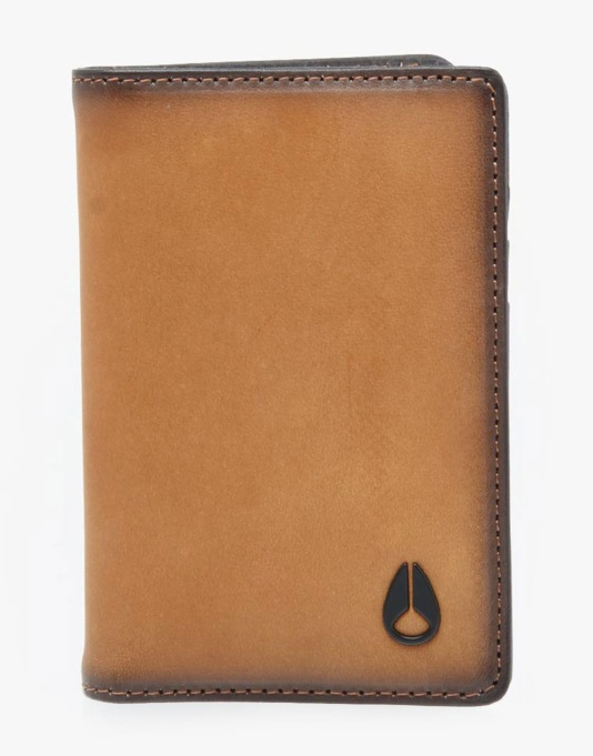 Nixon Suzuka Leather Wallet - Tan