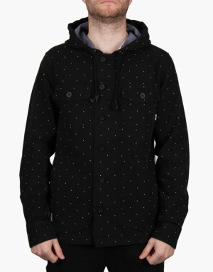 Vans Lismore Jacket - Black Polka Dot