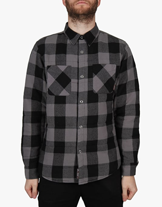 Fourstar Ishod Buffalo Quilt L/S Shirt - Black