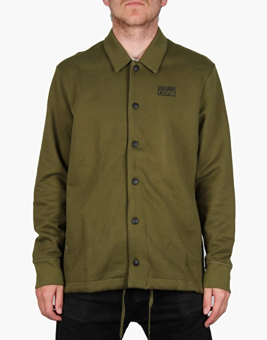Converse Cons Waffle Coach's Fleece - Imperial Green