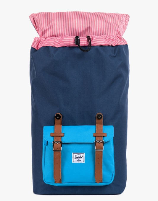 Herschel Supply Co. Little America Backpack - Navy/Cyan