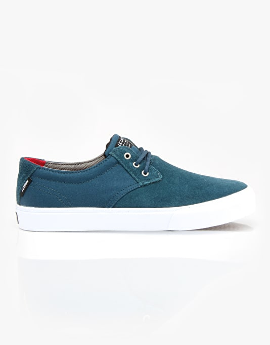 Lakai MJ Skate Shoes - Ink Blue Suede