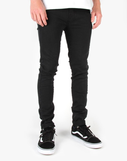 Grain Denim - Rinsed Black
