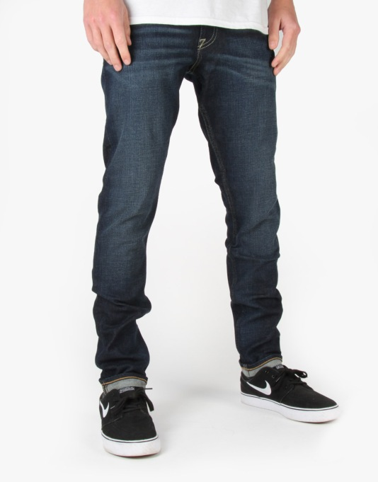 DC Worker Slim Jeans - Dirty Worn