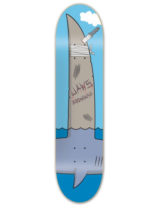 Birdhouse Jaws Fin Skateboard Deck - 8.25""