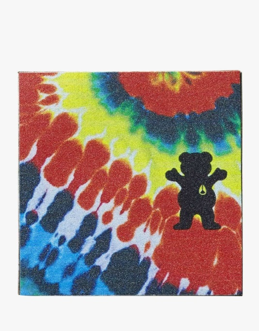 Nixon x Grizzly Grip Tape Sheet - Tie Dye/Grizzly