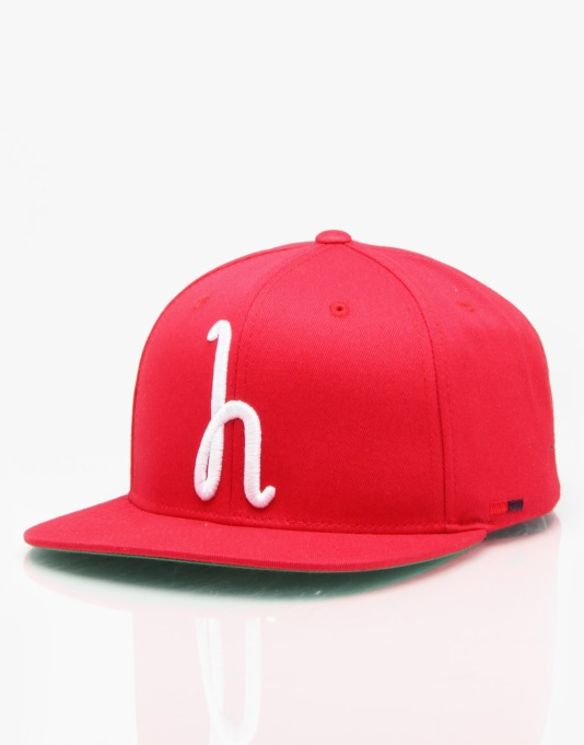 Herschel Supply Co. Toby Snapback Cap - Red