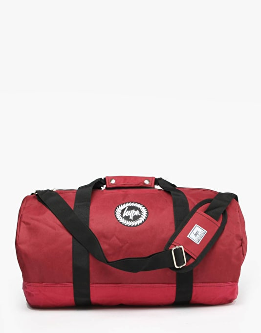 Hype Duffel Bag - Burgundy