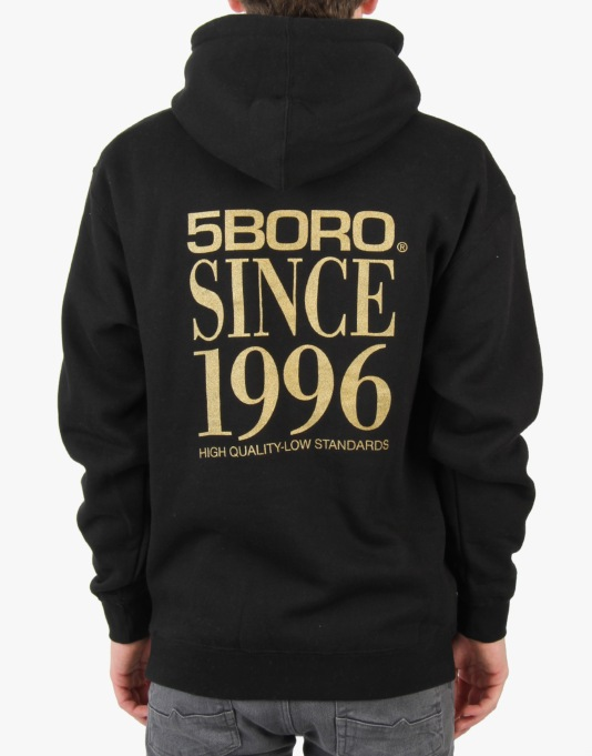 5Boro VHS Stack Pullover Hoodie - Black