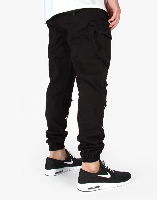 Publish Crow Trousers - Black