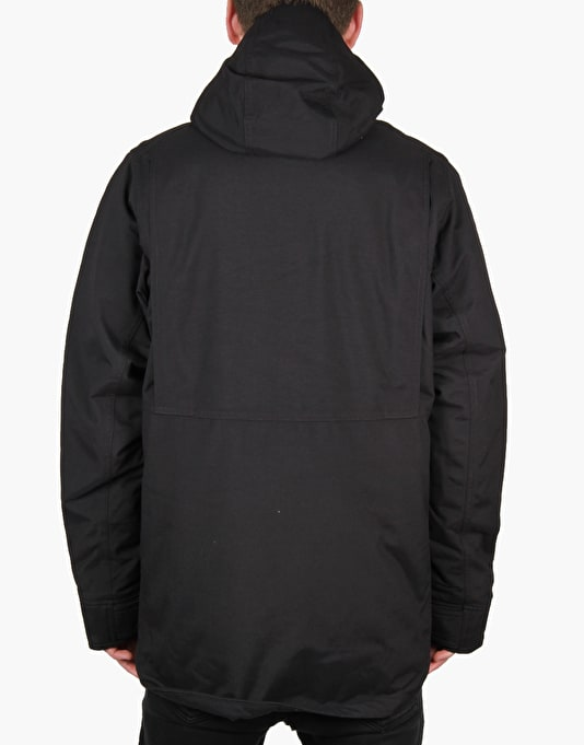 Patagonia Stormdrift Parka Jacket - Black