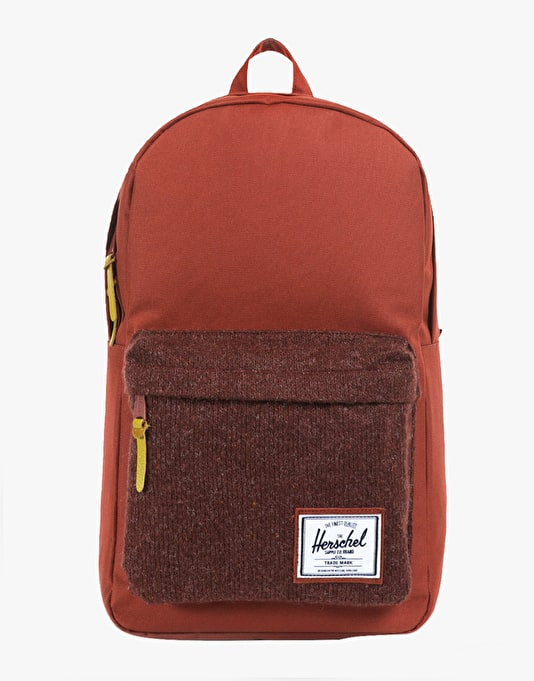 Herschel Supply Co. Woodside Backpack - Rust Quilt