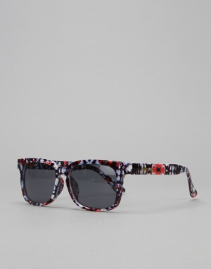 Glassy Sunhater Lox Sunglasses - Tie Dye