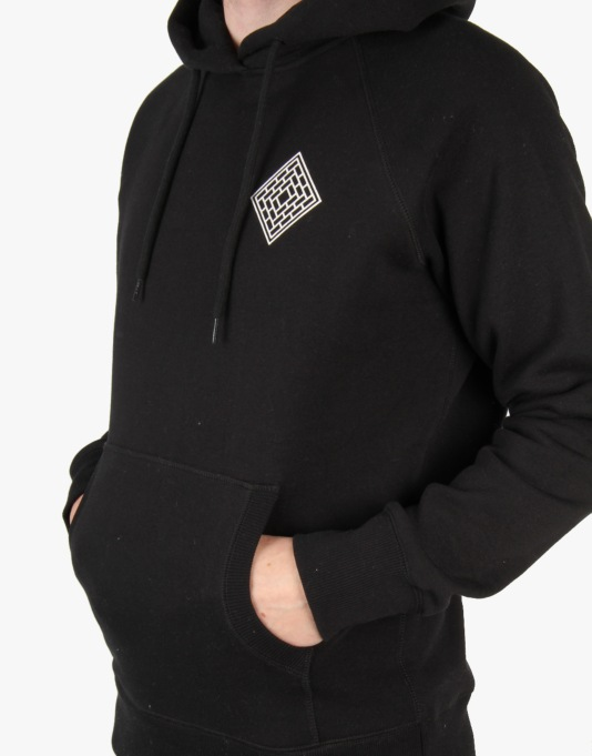 The National Skateboard Co. Mono Pullover Hoodie - Black