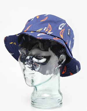 Undefeated Enemy Bucket Hat - Navy