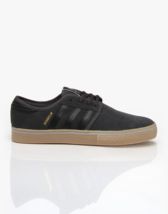 Adidas Seeley Pro (Jake Donnelly - Real) Skate Shoes - Grey/Black/Gum