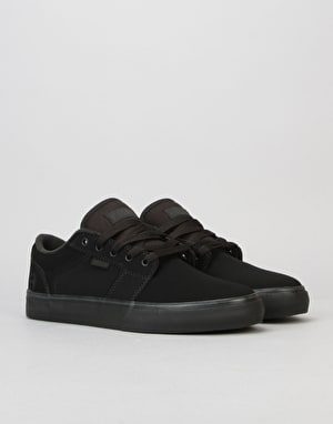 Etnies Barge LS Skate Shoes - Black/Black