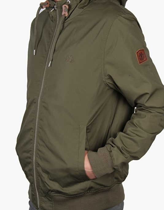 Element Dulcey Jacket - Military Green