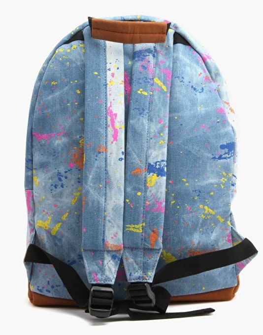 Mi-Pac Splattered Backpack - Stonewash