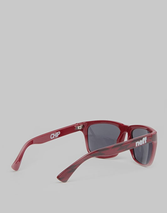 Neff Chip Sunglasses - Maroon