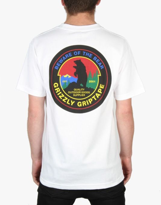 Grizzly Outdoor Suppliers T-Shirt - White