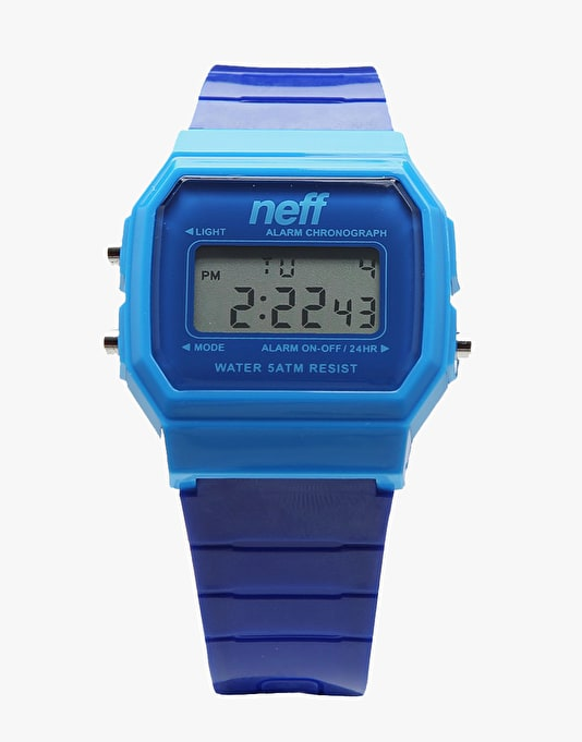 Neff Flava Watch - Blue/Blue