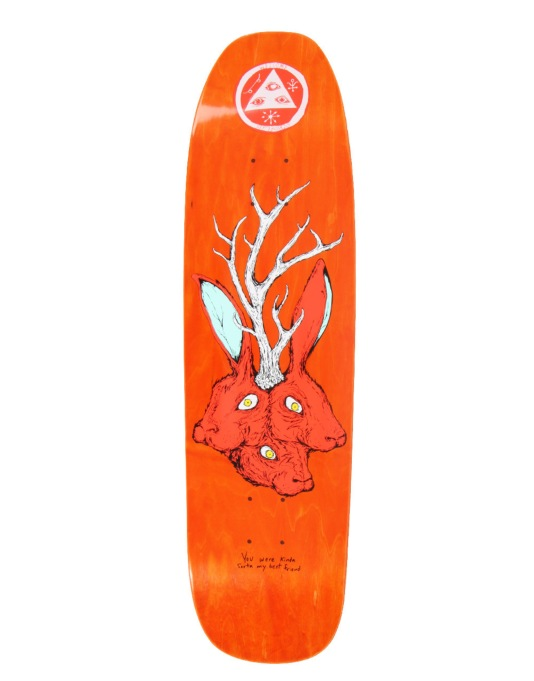 Welcome Bunny Heads on Nimbus 3000 Team Deck - 8.5""