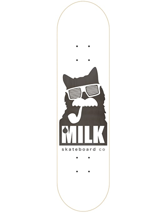 Milk Logo Sunnies Team Deck - 8.5""