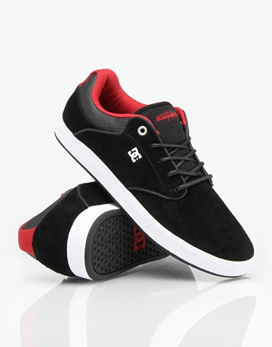 DC Mikey Taylor S Skate Shoes - Black/Athletic Red