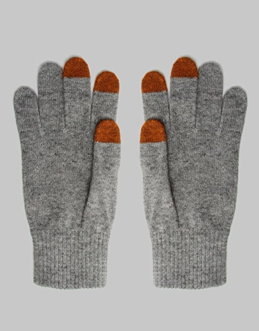 Carhartt Touch Screen Gloves - Grey Heather