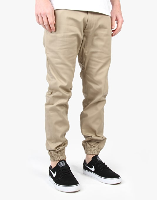 Diamond Supply Co. Mined Jogger Chinos - Tan