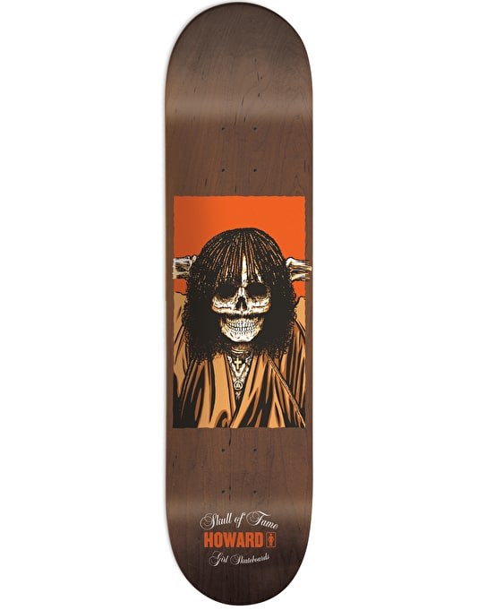 Girl x Sean Cliver Howard Skull of Fame Pro Deck - 8.375""
