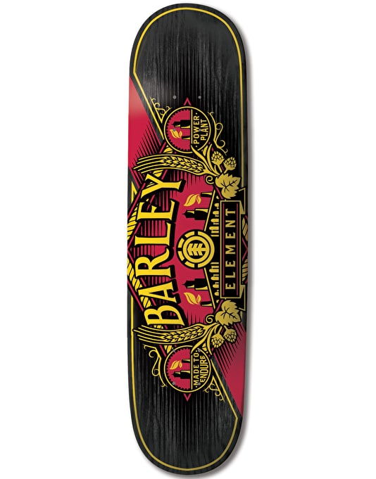 Element Barley Power Plant Featherlight Pro Deck - 8.6""