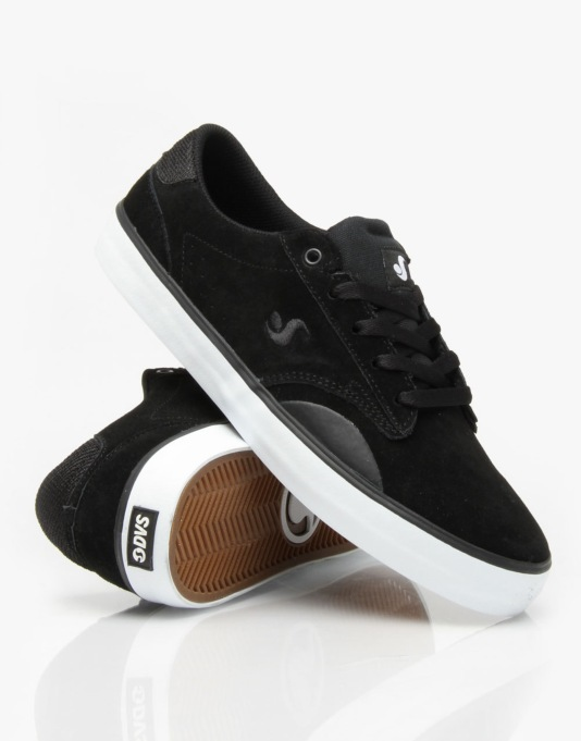 DVS Daewon 14 Skate Shoes - Black Suede
