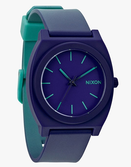 Nixon Time Teller P Watch - Teal/Purple Fade