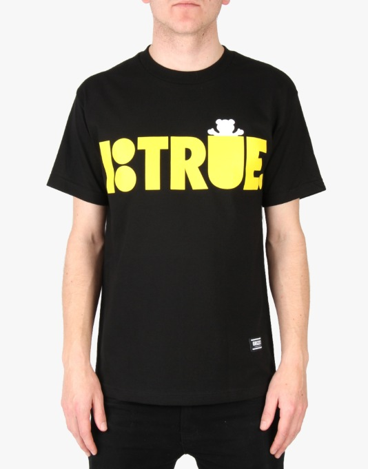 Grizzly x Plan B Be True T-Shirt - Black