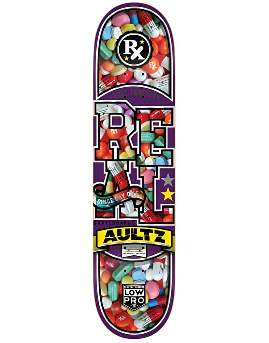 Real Aultz Overdose Low Pro II Pro Deck - 8.125""