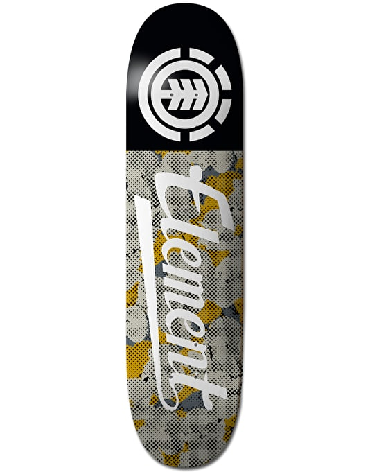 Element Script Pop Camo Featherlight Team Deck - 8.25""