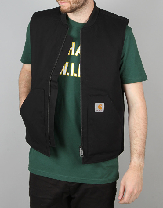 Carhartt Vest - Black Rigid