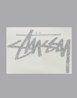 Stüssy Original Stock Decal - Black