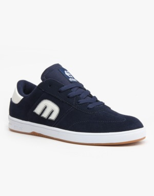 Etnies Lo-Cut Skate Shoes - Blue/White/Gum